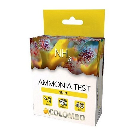 Colombo TEST NH3 ammoniaca specifico per marino 40 misurazioni