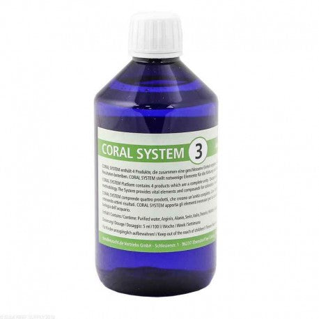 Korallen-Zucht Coral System 3  250 ml Intensificatore di colorazione