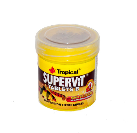 TROPICAL Super Vits Tablet B 50 ml  per pesci da fondo
