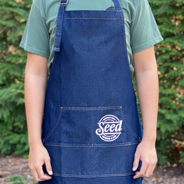 SEED Denim Chef's Apron