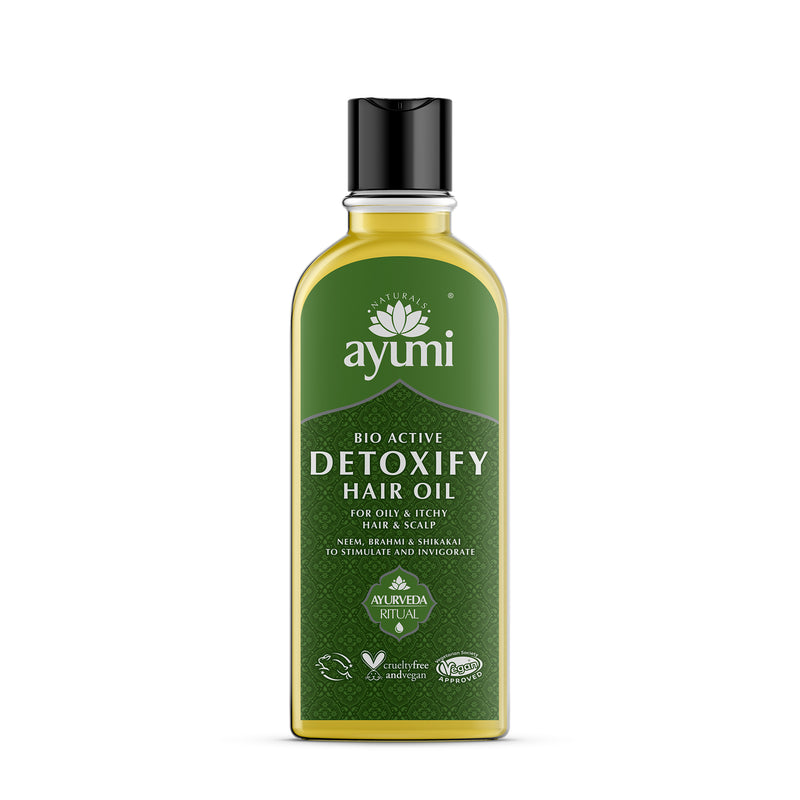 Ayumi Bio Active Detoxifying Hair Oil