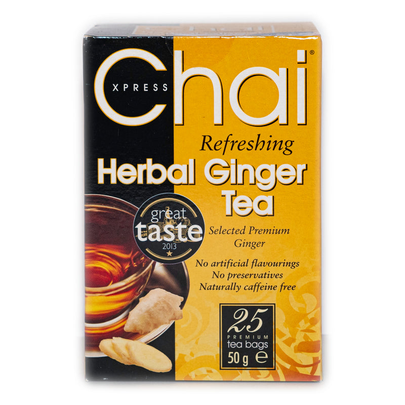Herbal Ginger Tea Bags(25'S) Chai Xpress