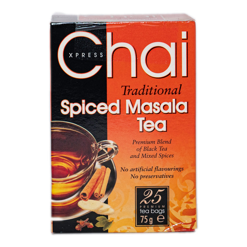 Spiced Tea Bags (25'S) Chai Xpress