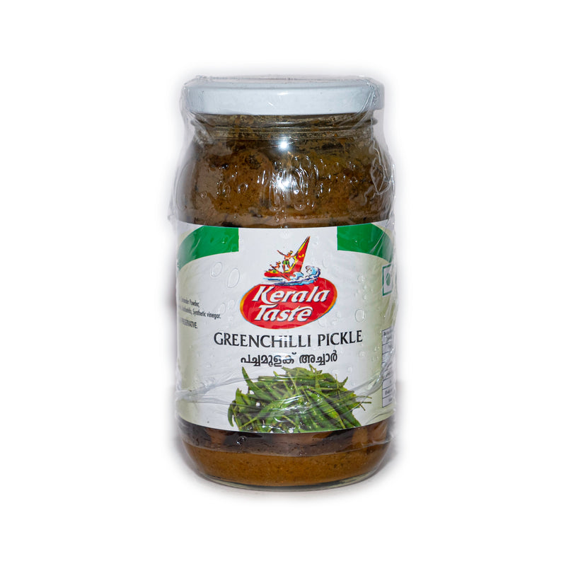 Kerala Taste Green Chilli Pickle