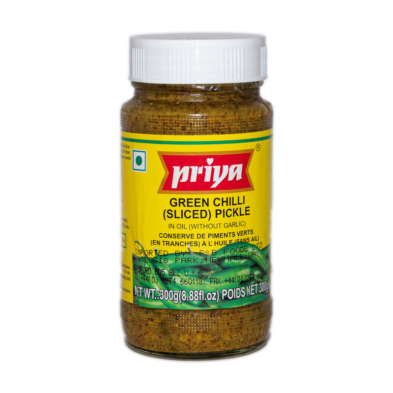 Priya Green Chilli Sliced