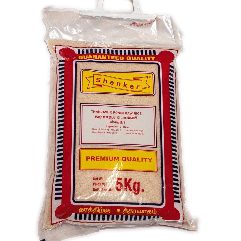 Shankar Thanjavur Ponni Raw Rice