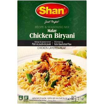 Shan Chicken Biryani (Malay) Masala
