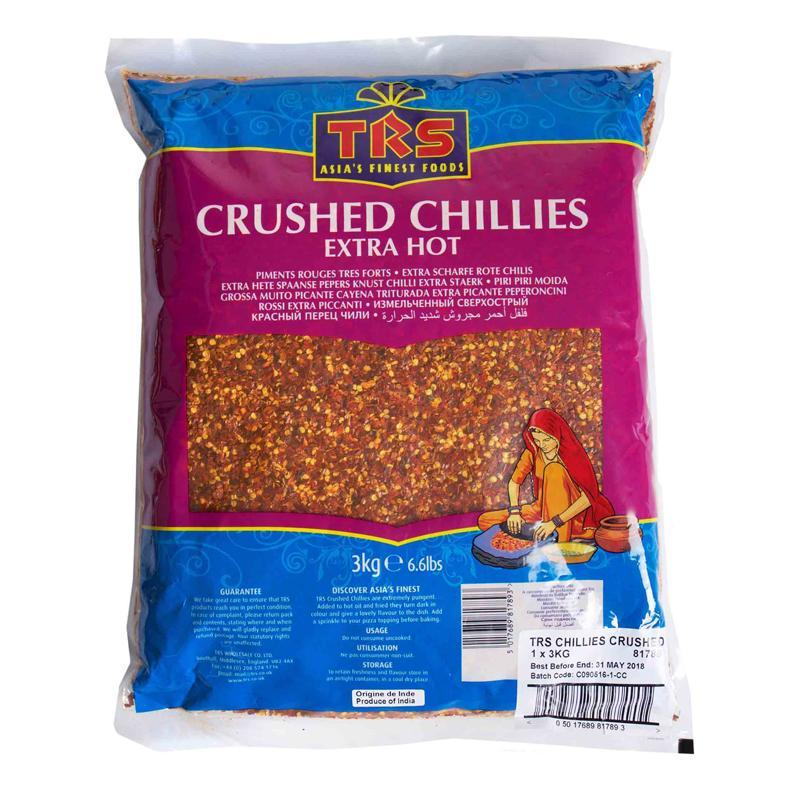 TRS Chillies Crushed Extra Hot