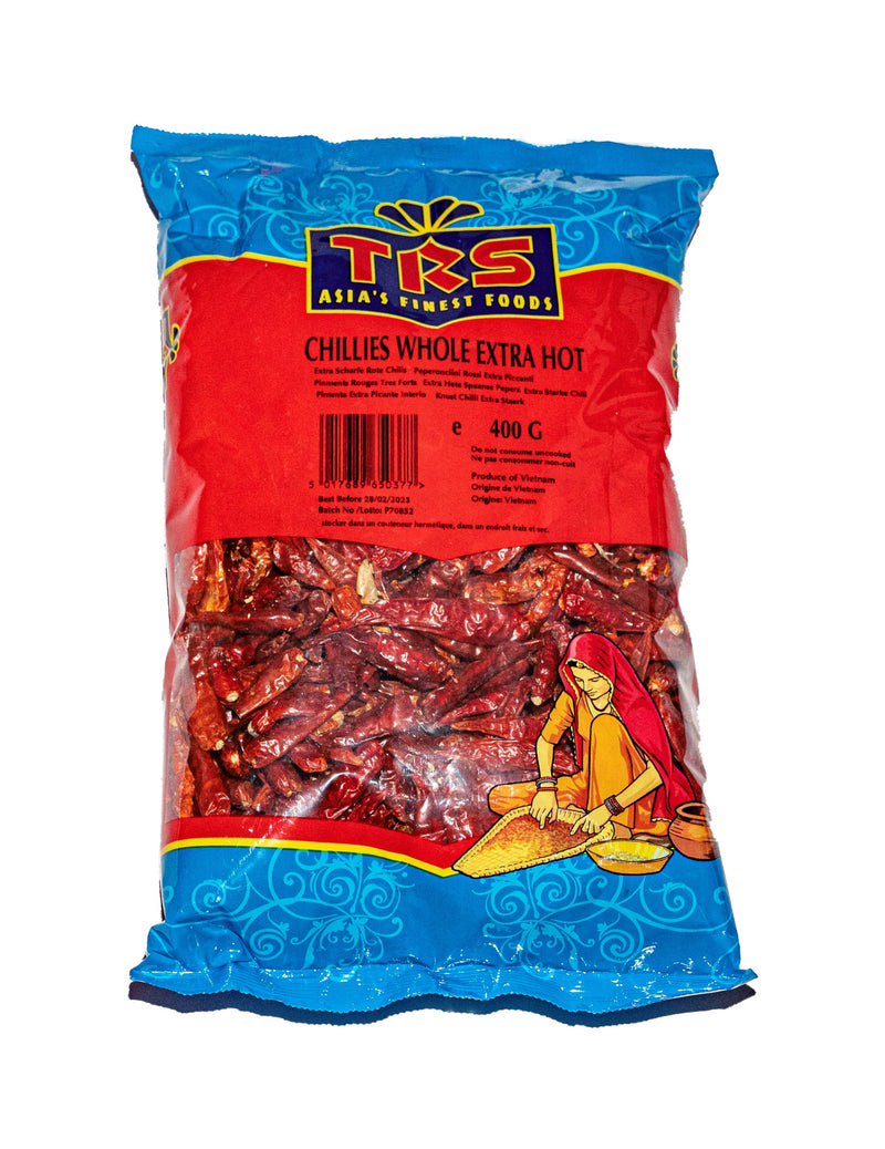 TRS Chillies Whole Extra Hot