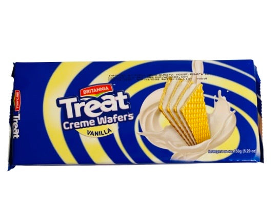 Britannia Treat Creme Wafers Vanilla