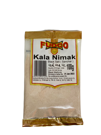 Fudco Kala Namak Powder (Black Salt / Sanchar)