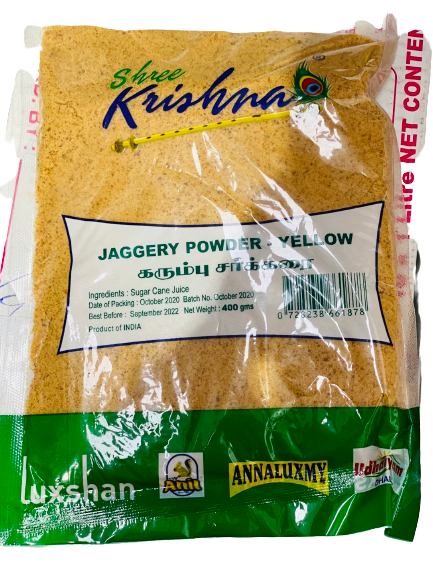 Jaggery (Gur/Goor) Powder - Yellow