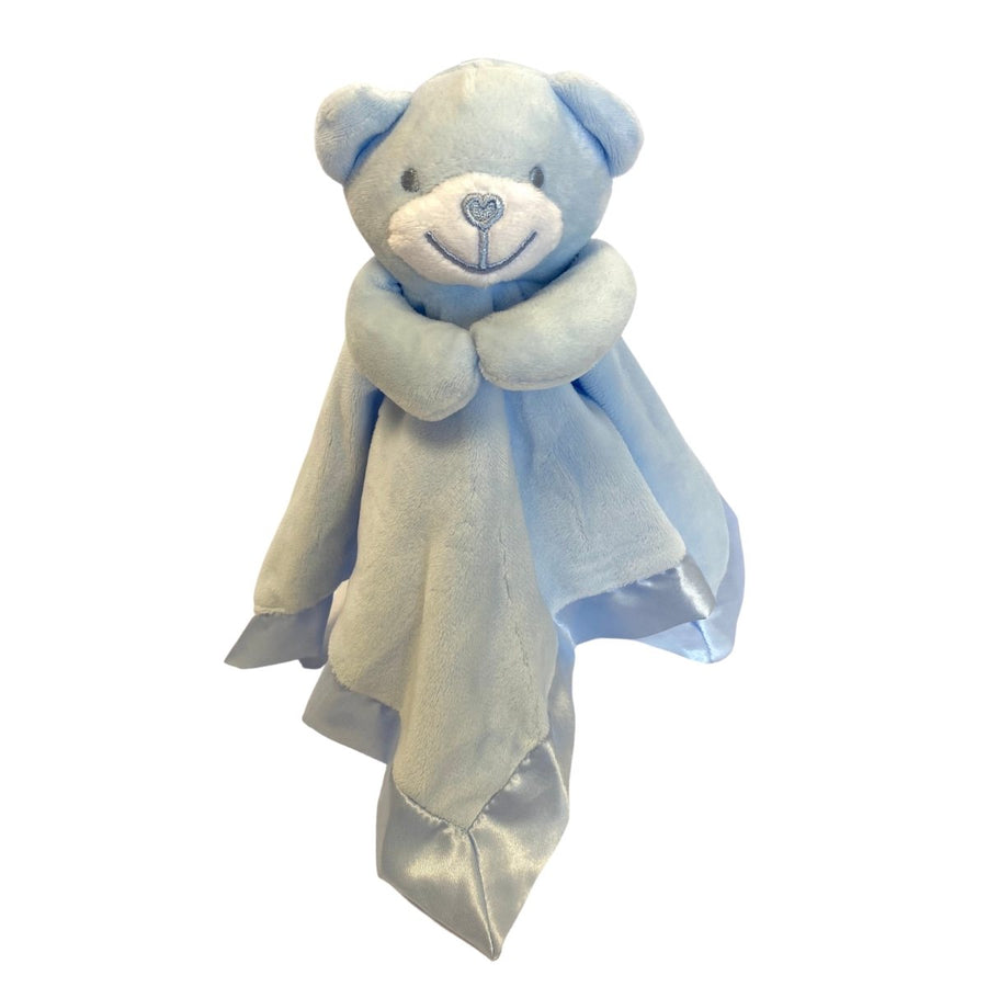 Personalised Child's Velour Comforter / Teddy - With Satin Trim
