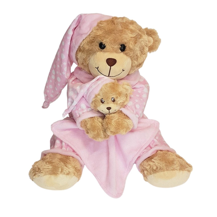 Bedtime Bear With Pink Comforter