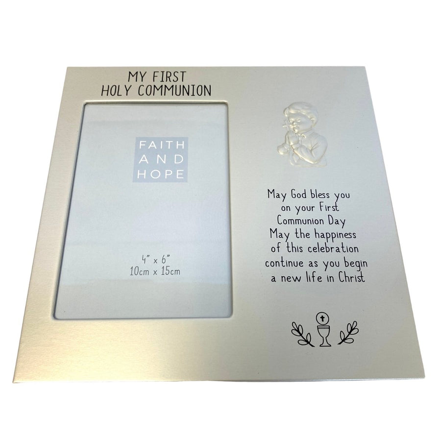 Boys Communion Frame