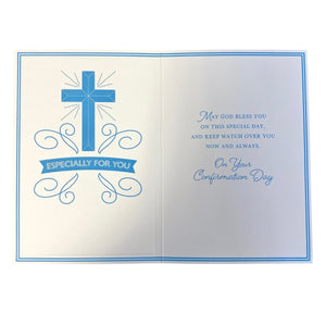 Boys Confirmation Card - Inside