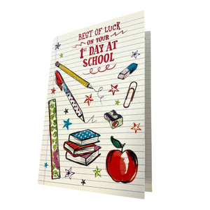 First Day At School Greeting Card