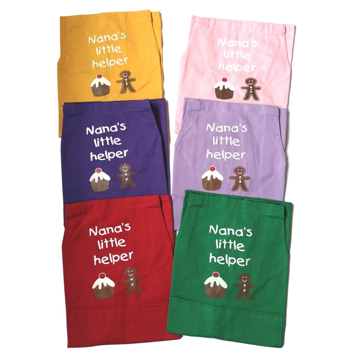 Personalised Aprons With Childs Name