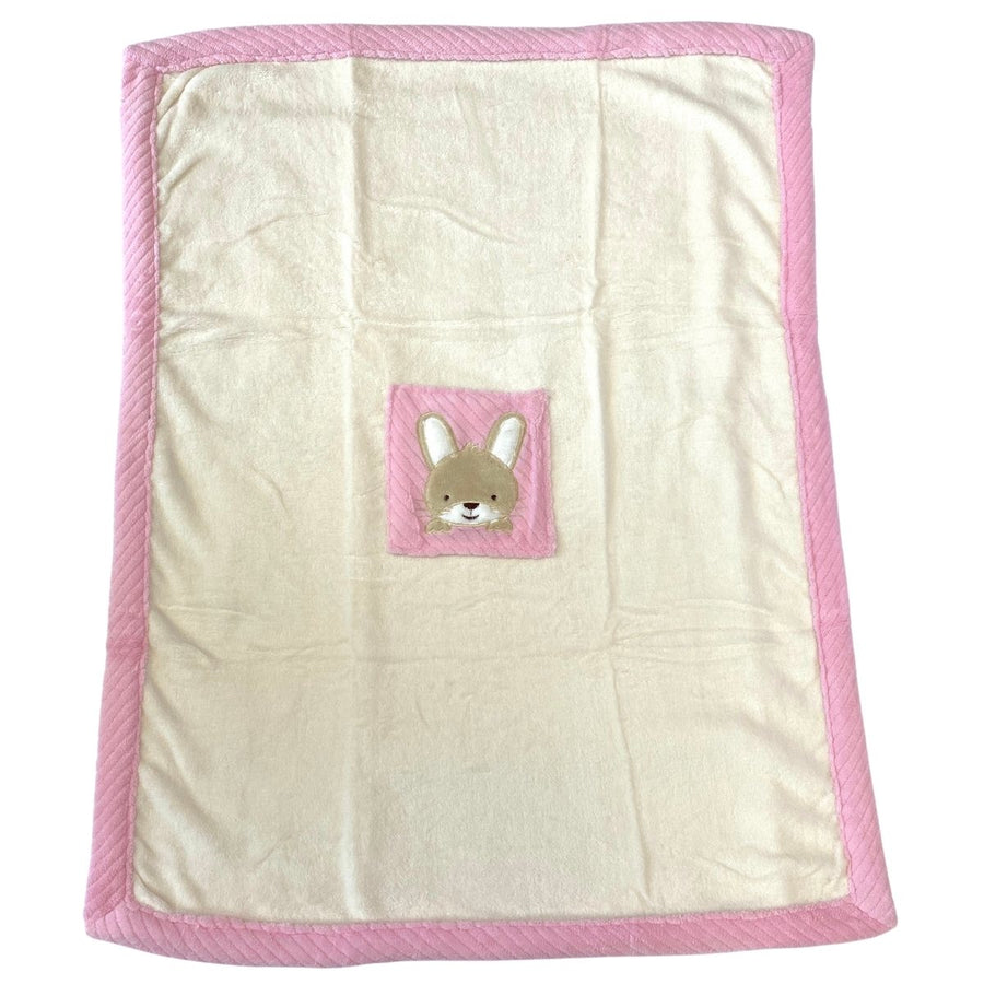 Personalised Baby Blanket - Pink 2