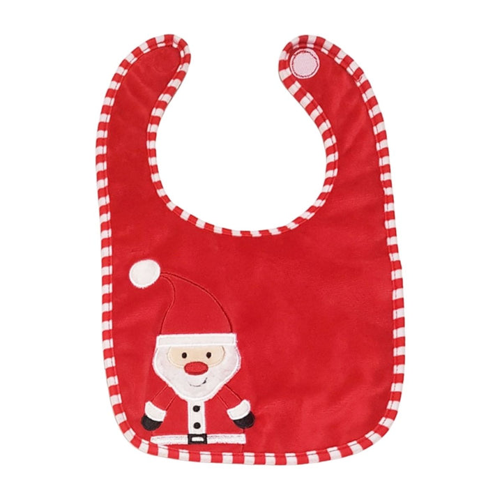 Personalised Bib With Santa