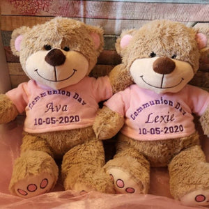 Personalised Communion Teddies