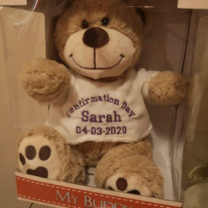 Personalised Confirmation Day Teddy