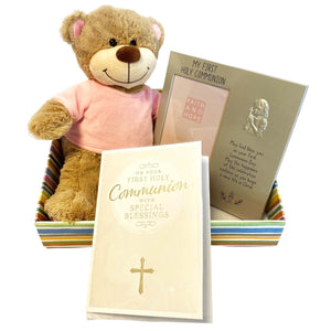 Personalised First Holy Communion Gift - Pink