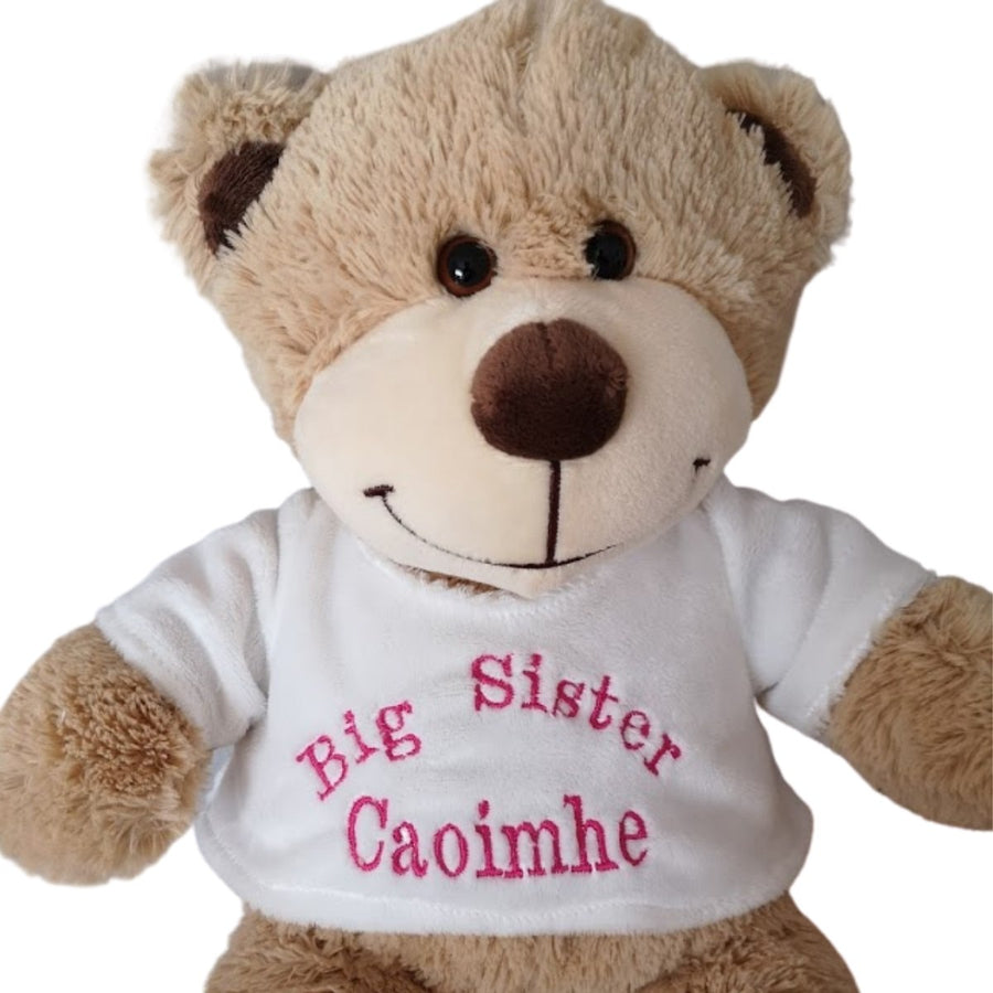 Personalised Teddy- White T Shirt