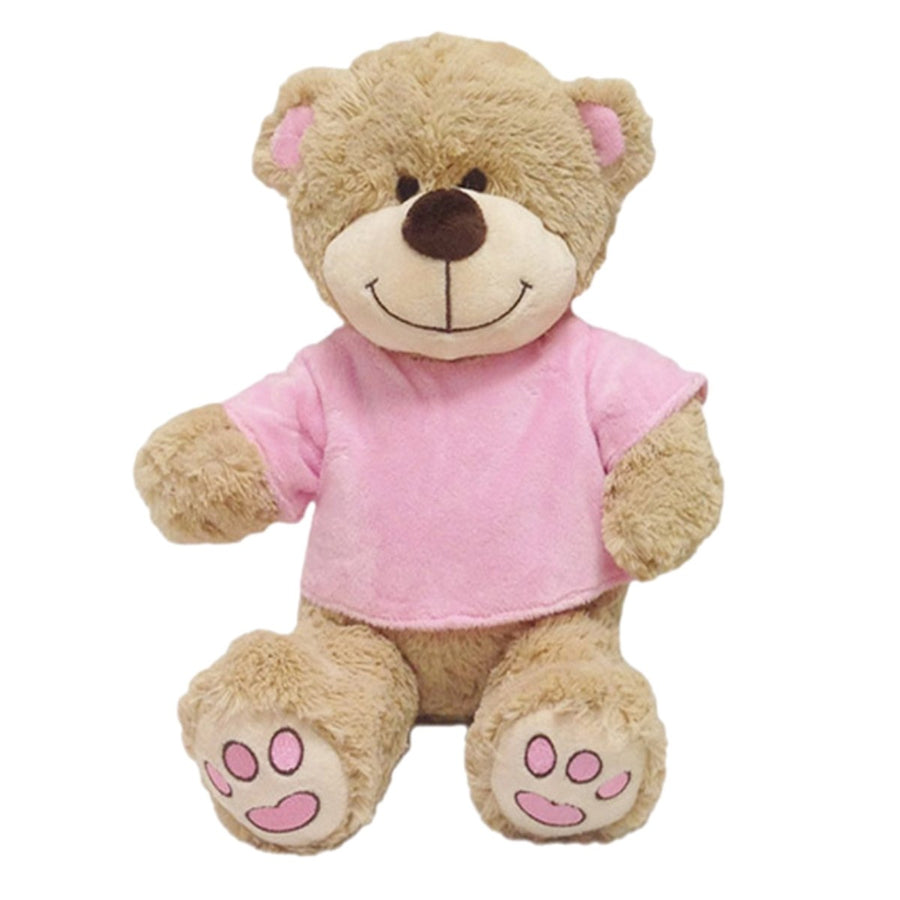 Personalised Teddy Bear - Pink T-Shirt