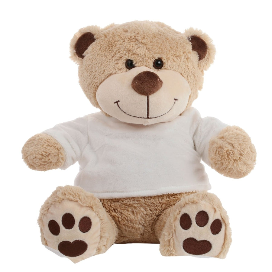 Personalised Teddy Bear - White T-Shirt