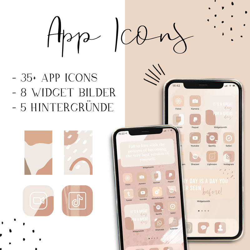 Boho App Icons | iPhone iOS 14