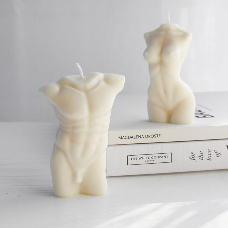 Male Body Candle