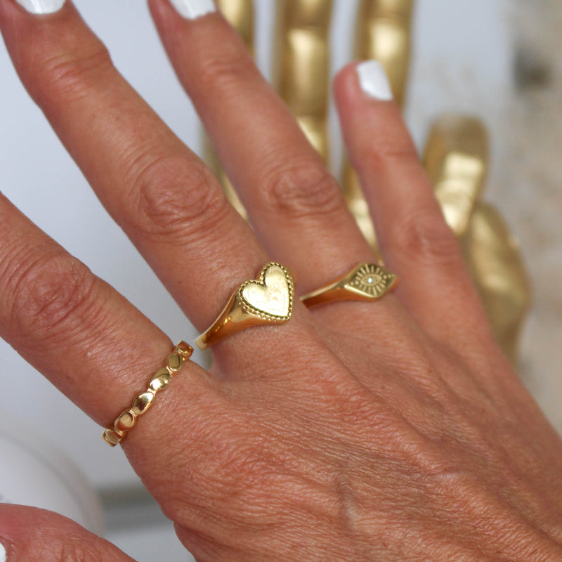 Ring Mini Hearts