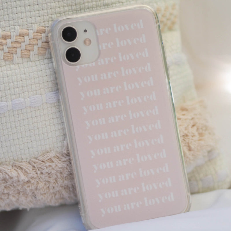 iPhone Hülle 'You are loved'