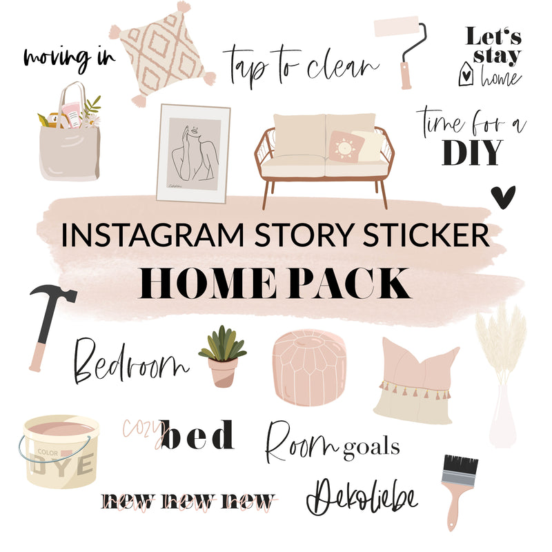 Story Sticker HOME