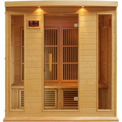 Image of Golden Designs 3 Person Infrared Sauna