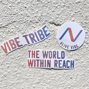 Alive Vibe Sticker Pack