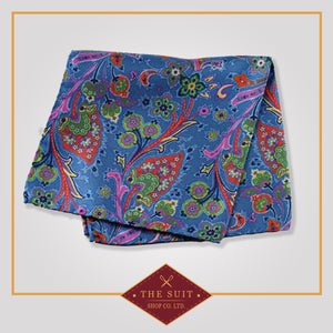 250 Patterned Silk Pocket Square