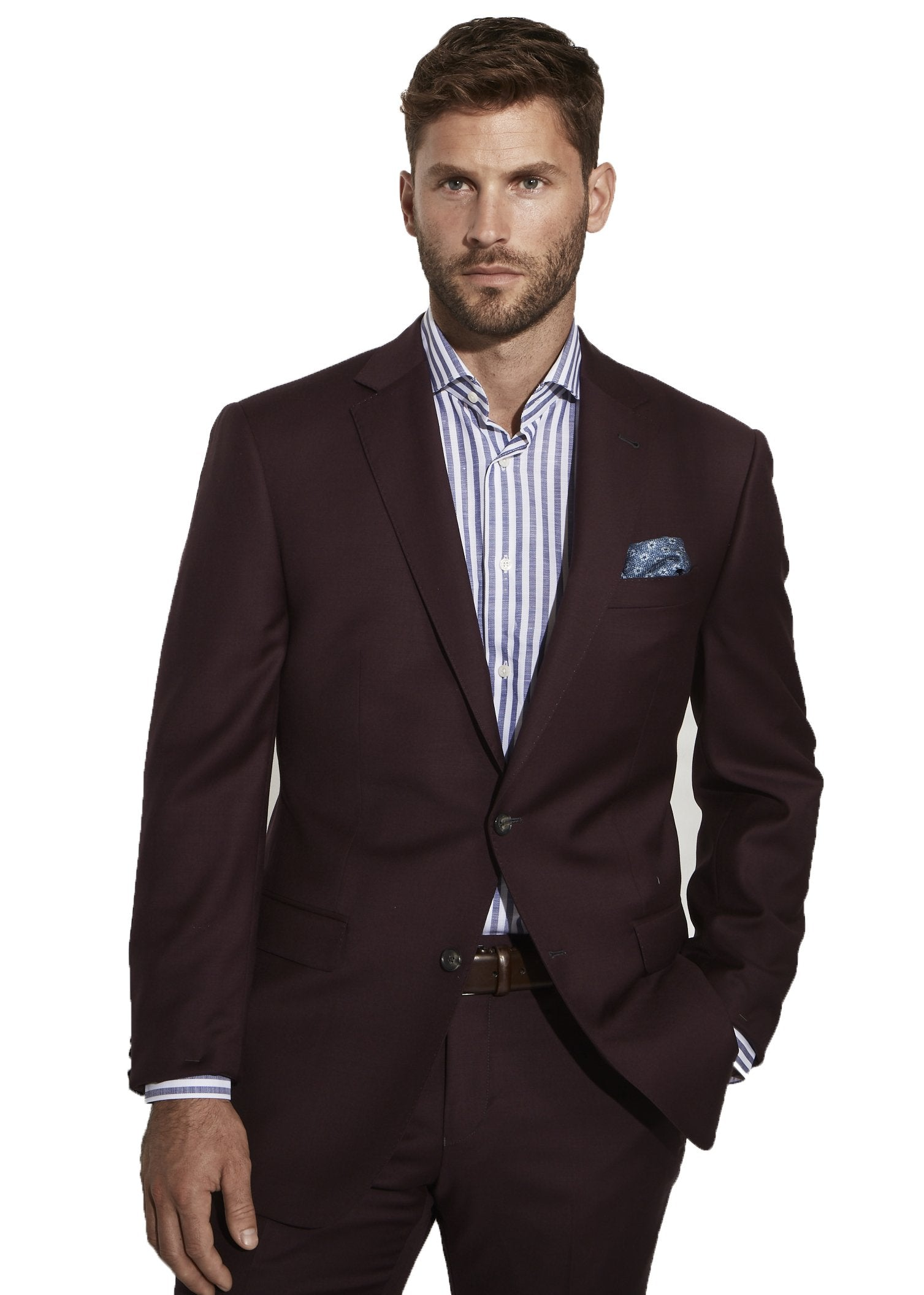 Bordeaux Plain Jacket