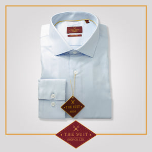Windsor Shirt Baby Blue Oxford Cotton