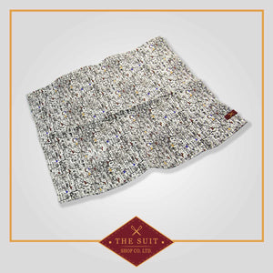 Mediterranean Patterned Pocket Square
