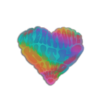 Kindness Is Love Holo Sticker