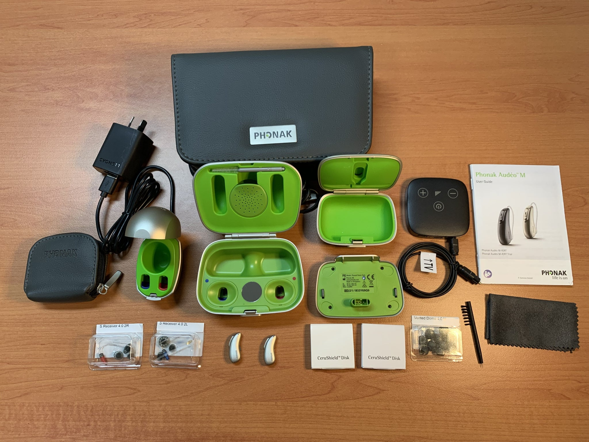 Phonak Audeo Marvel M90-R Premium Rechargeable Hearing Aids Bundle Super Special