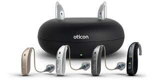 Oticon Ruby 1 Mini RITE hearing aids