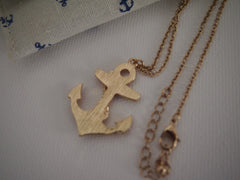 Nautical - Anchor Necklace