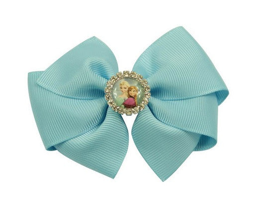 Dress Up - Elsa Inspired Hair Bow Clips