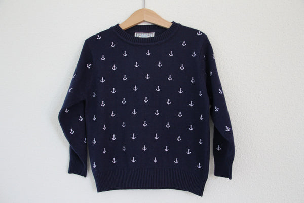 Nautical - Moreno Pullover Blue