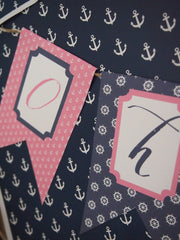 Nautical Pink & Preppy