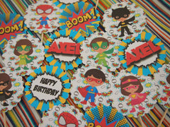 Super Girls and Boys Birthday