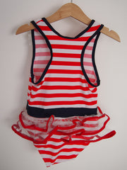 Nautical - Shelly Swimsuit Hat Set